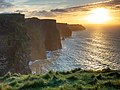Cliffs of Moher - Into the Sunset (49540453606).jpg