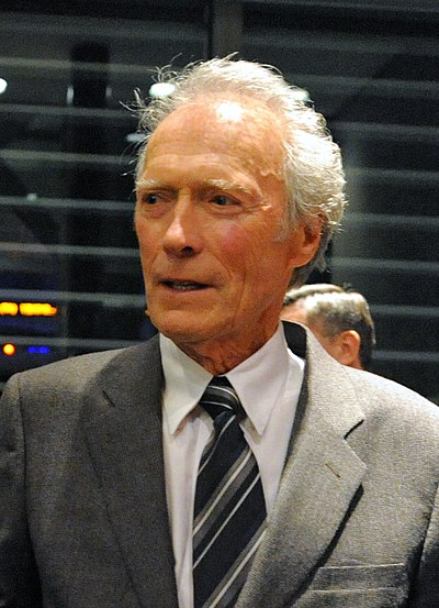 Clint Eastwood, American actor, filmmaker, musician, and politician