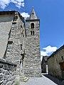 Clocher de l'église Notre-Dame de l'Assomption de Bonneval-sur-Arc (2019).JPG