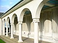 Cloister at the Air Forces Memorial - geograph.org.uk - 1501541.jpg