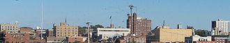 Downtown Columbia, Missouri - Image: Co Mo Skyline 3