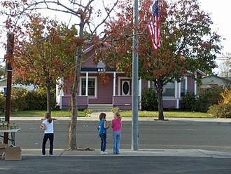 Coalinga, California - Coalinga house in 2009