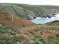 Coastal scenery above Cwm-bach - geograph.org.uk - 1545287.jpg