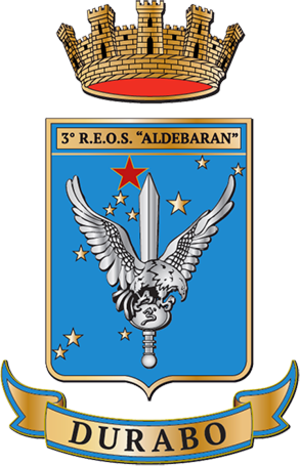 3rd Special Operations Helicopter Regiment - Image: Coat of Arms Italian Army 3rd Helicopter Regiment