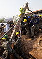Cobra Gold participants raise pillars, commence humanitarian civic assistance 140125-M-TT095-001.jpg
