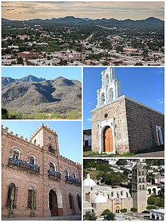 Álamos Town in Sonora, Mexico