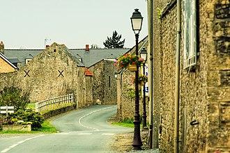 Colleville-sur-Mer - Main street