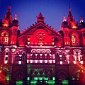 Colors of independence on Chatrapati Shivaji Terminus!.jpg