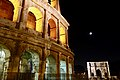 Colosseum and Arch of Constantine at Night (46327754171).jpg