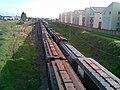 Comboios em cruzamento no pátio da Estação Ferroviária de Itu - Variante Boa Vista-Guaianã km 202 - panoramio.jpg