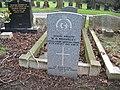 Commonwealth War Grave in Jarrow Cemetery (WW1-15) - geograph.org.uk - 1603584.jpg