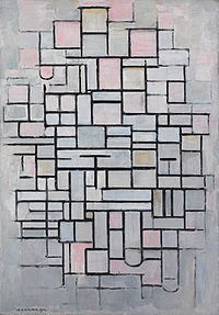 Composition No IV, by Piet Mondriaan.jpg