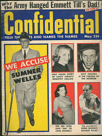 Sumner Welles - Confidential expose March 3, 1956