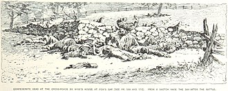 Battle of South Mountain - Confederate dead at Fox's Gap