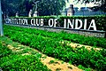 Constitution Club Of India at the entrance.jpg