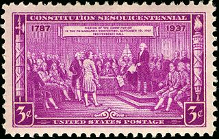 President, Constitutional Convention,issue of 1937 3c