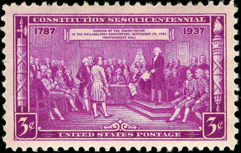 Constitution Sesquicentennial 1937 Issue-3c.jpg