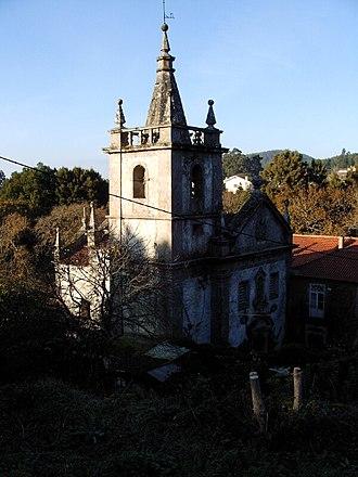 Afife - The old church of the Convent of São João de Cabanas