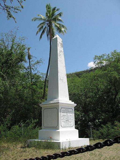 Cook Monument Kealakekua