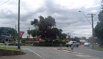 Cooroy, Queensland - Myall Street, Cooroy