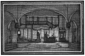Jacques Copeau - Set design by Louis Jouvet for Copeau's production of The Brothers Karamazov