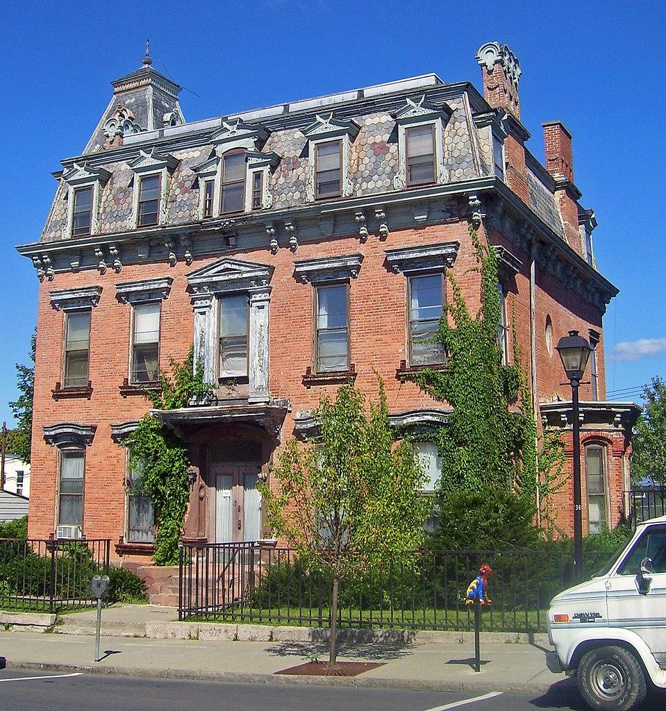 File cornelius evans house hudson wikipedia for Hudson house