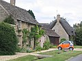 Cottages and Car in Minster Lovell - geograph.org.uk - 473904.jpg