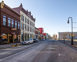 Council Bluffs, Iowa - Haymarket Historic District