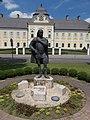 Count Antal Grassalkovich by Kálmán Balog, Kossuth Square, 2017 Hatvan.jpg