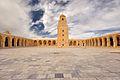 Courtyard of the Great Mosque of Kairouan - cour de la Grande Mosquée de Kairouan.jpg