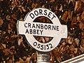 Cranborne, detail of Wimborne Street signpost - geograph.org.uk - 1741296.jpg