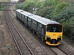 Creech St Michael - GWR 150002 Cardiff train.JPG