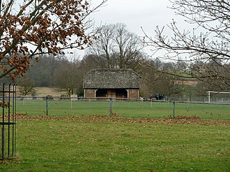 Penshurst Park - The pavilion at the ground