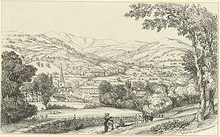 Crickhowel from the Langenni Road