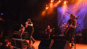 Crimson Glory - Crimson Glory performing in Pratteln, Switzerland, 2011