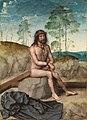 Cristo sobre la piedra fría, de Juan de Flandes (Museo del Prado).jpg