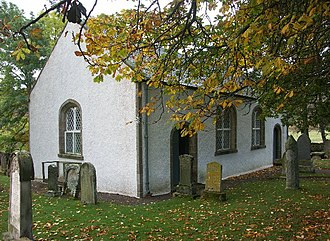 Kincardine, Sutherland - Image: Croick Old Parish Church geograph.org.uk 68634
