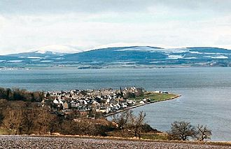 Invergordon Mutiny - Cromarty Firth in Scotland
