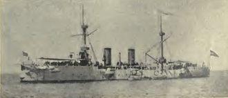ARA Veinticinco de Mayo (1890) - 25 de Mayo in 1901