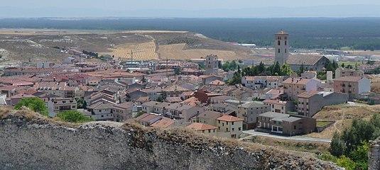 Cuellar vista desde su castillo.jpg