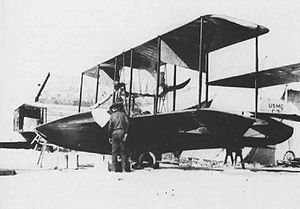 United States Marine Corps Aviation - The first USMC plane: a Curtiss C-3.