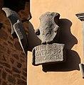 Cutigliano, palazzo dei capitani della montagna, stemmi 13 pitti.jpg