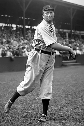 Cy Young - Young with the Cleveland Naps in 1911