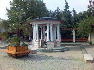 Csopak - Image: Díszkút