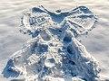 Dülmen, Kirchspiel, Börnste, Schneeengel -- 2021 -- 4920.jpg