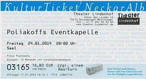 Theater Lindenhof - Entrance ticket