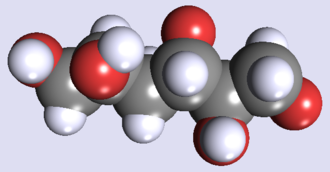 Mannitol - Image: D Mannitol 3d space fill