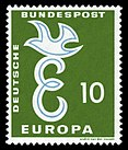 DBP 1958 295 Europa 10Pf.jpg
