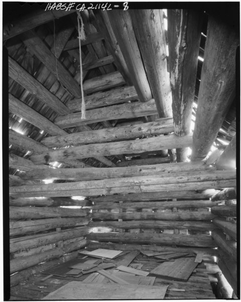 File detail of second floor roof interior lassen for 3999 roof