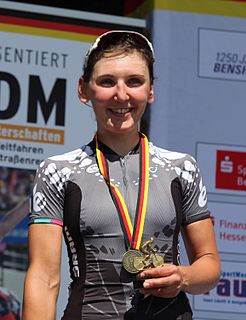 Lisa Brennauer German cyclist